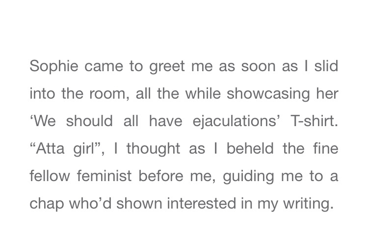 Review of the event Risqué by Sophie mona, reviewed by Lena Hulderic