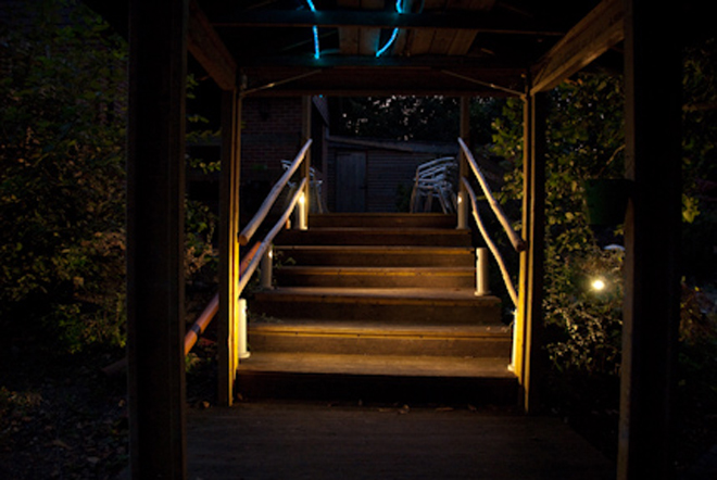Stairs at Pleasures in Kent