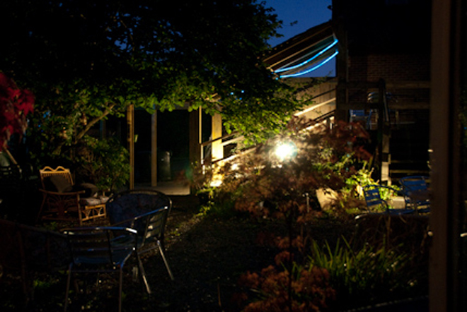 Image of the outdoor area at Pleasures in Kent from their website